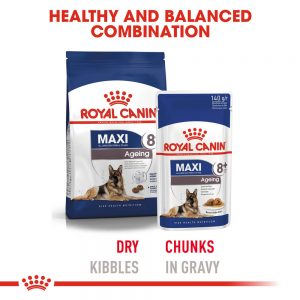 ROYAL CANIN Maxi Ageing (8+) Gravy Pouch, 140g