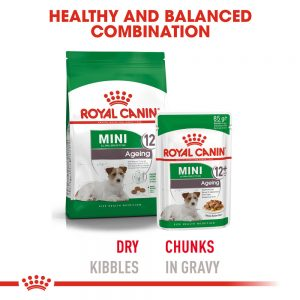 ROYAL CANIN Mini Ageing (12+) Gravy Pouch, 85g