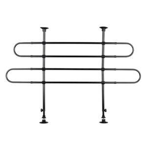 TRIXIE Angled Car Dog Grid Black W:85-140cm H:75-110cm