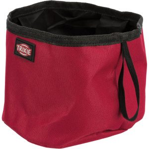 TRIXIE Polyester Travel Drinking Bowl