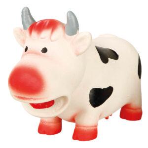 TRIXIE Latex Cow with Sound, 19cm