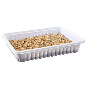 TRIXIE Small Animal Grass Dish, 100g