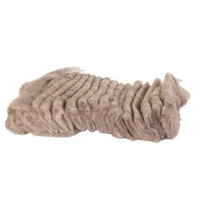 TRIXIE Woolly Hamster Bedding, 20g Brown