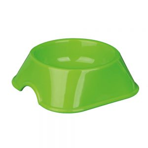 TRIXIE Plastic Feeding Bowl Large, 200ml/9cm