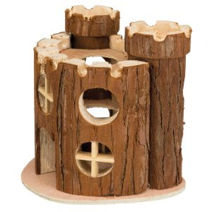 TRIXIE Natural Living Matti Play Castle, 17x15x12cm