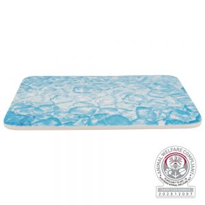 TRIXIE Cooling Plate for Small Animals, 28x20cm, Blue