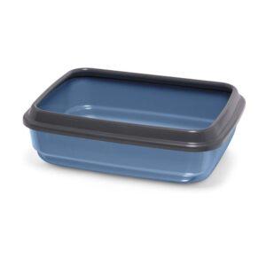 IMAC Jerry Cat Litter Tray 2nd Life Plastic, Blue