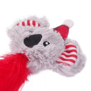 ROSEWOOD Christmas Koala Cat Toy, 10x20cm