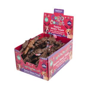 ROSEWOOD Cupid & Comet Festive Meaty Treats, 45g