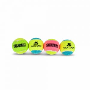 SPORTSPET Squeak Ball Mini, 4.8cm 4pk