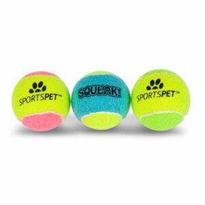SPORTSPET Squeak Ball 6.5cm, 3pk
