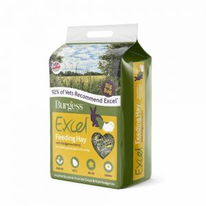 BURGESS Excel Feeding Hay with Hedgerow Herbs, 3kg