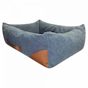 BlUE PAW Denim Washed Lounger, 71x58x20cm