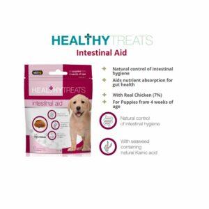 VetIQ Healthy Treats Intestinal Aid for Puppies, 50g