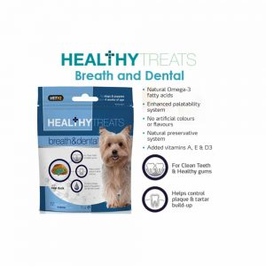 VetIQ Healthy Treats Breath and Dental for Dogs, 70g
