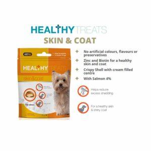 VetIQ Healthy Treats Skin and Coat for Dogs, 70g