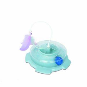 M-PETS Dizzy Cat Toy,  Blue
