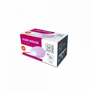 M-PETS Laser Mouse Cat Toy, Pink