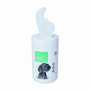 M-PETS Cleaning Wipes in Plastic Tub, x80