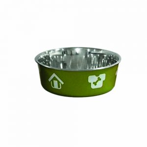 BLUE PAW Stainless Steel Shell Bowl Green, 16cm