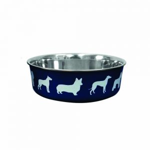 BLUE PAW Stainless Steel Shell Bowl Navy, 11cm