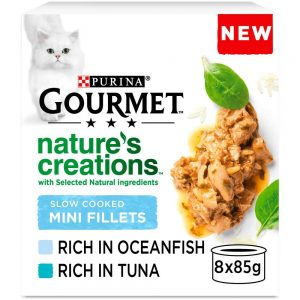 GOURMET Natures Creations Mini Fillets Poultry 8x85g