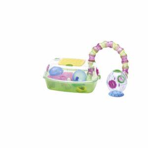 IMAC Yo-Yo Plus Plastic Hamster Cage, 54x39x27cm