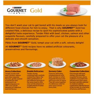 GOURMET Gold Paté Recipes Can Multipack, 8x85g