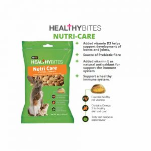 VetIQ Healthy Bites Nutri Care for Small Animals, 30g