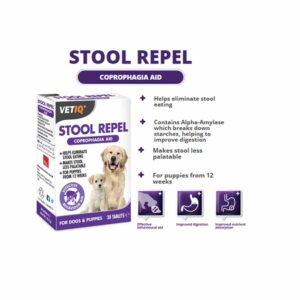 VetIQ Stool Repel Tablets, x30