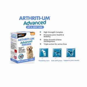 VetIQ Arthriti-UM Advanced Hip & Joint Tablets, x45