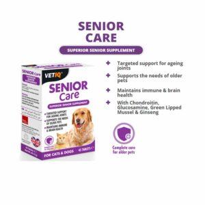 VetIQ VetIQ Senior Care Tablets, x45