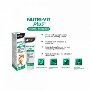 VetIQ Nutri-Vit Plus Vitamine Energiser Paste for Cats, 70g