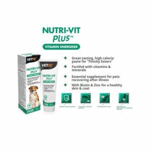 VetIQ Nutri-Vit Plus Vitamine Energiser Paste for Dogs, 100g