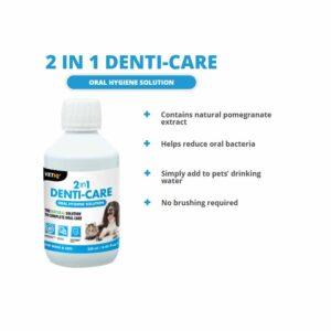 VetIQ 2in1 Denti-Care Solution, 250ml