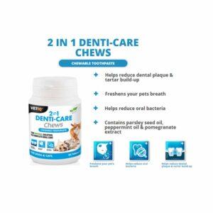 VetIQ 2in1 Denti-Care Chews, x30