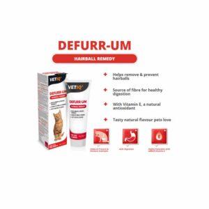 VetIQ Defurr-UM Hairball Paste, 70g