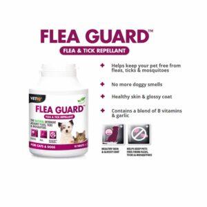 VetIQ Flea Guard Tablets, x90