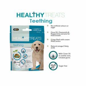 VetIQ Healthy Treats Teething for Puppies, 50g