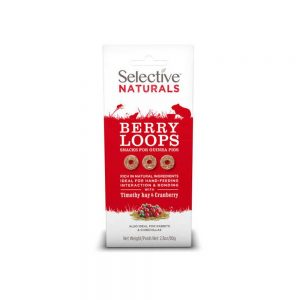 SELECTIVE NATURALS Berry Loops for Rabbits & Guinea Pigs