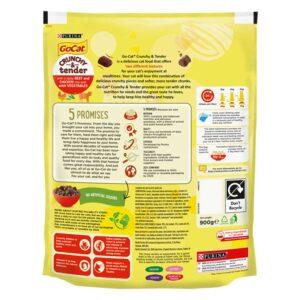 GO-CAT Crunchy & Tender Beef, Chicken & Vegetable, 900g
