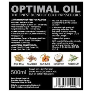 SEVEN Optimal Oil, 500ml