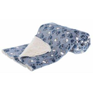 TRIXIE Tammy Blanket, Blue/Beige