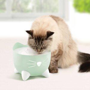 CATIT PIXI Cat Drinking Fountain, Mint Green