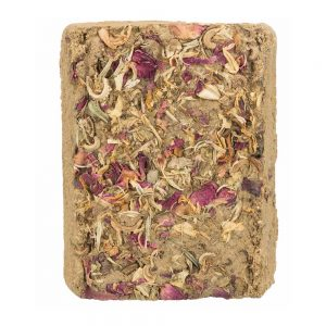 TRIXIE Clay Block with Flowers, 100g