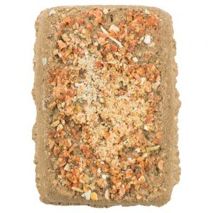 TRIXIE Clay Block with Carrots, 100g
