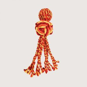 rope and tug toy for dogs