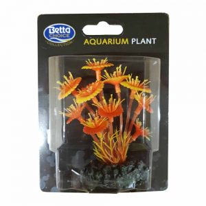 BETTA Plastic Red Mushroom Plant