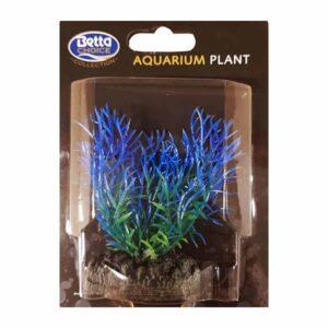 BETTA Plastic Blue Fern Plant