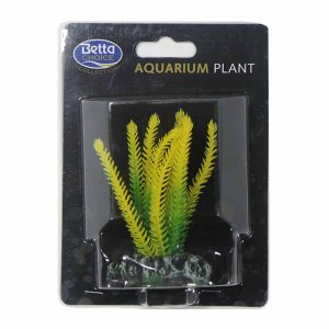 BETTA Plastic Yellow Densa Plant